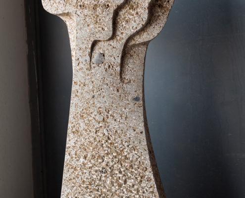 Grabmal Lebensbaum aus dem Material Estavayer