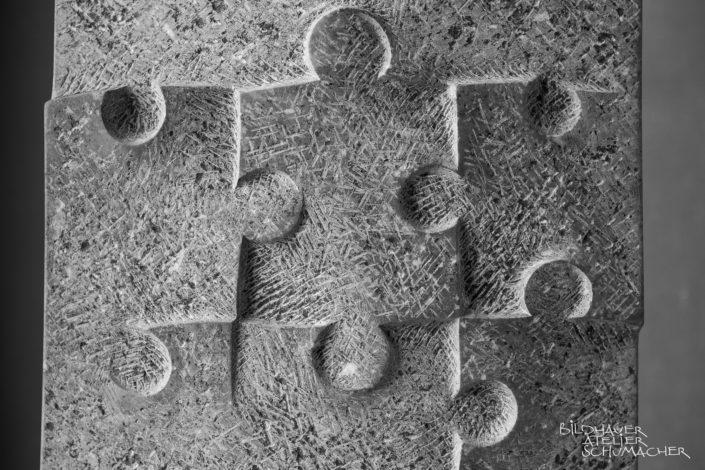 Puzzle Relief St.Michel Kalkstein