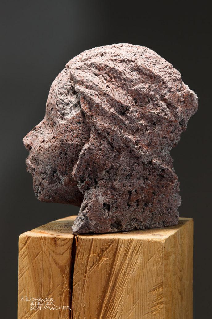 Frauenkopf Rotlava