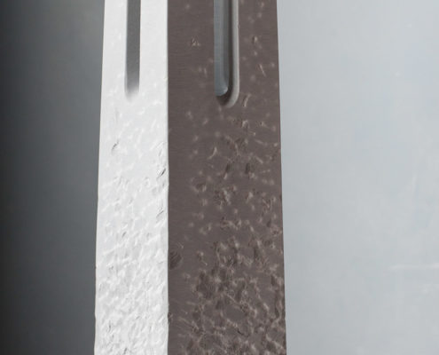 Stein Laterne Bardiglio Marmor