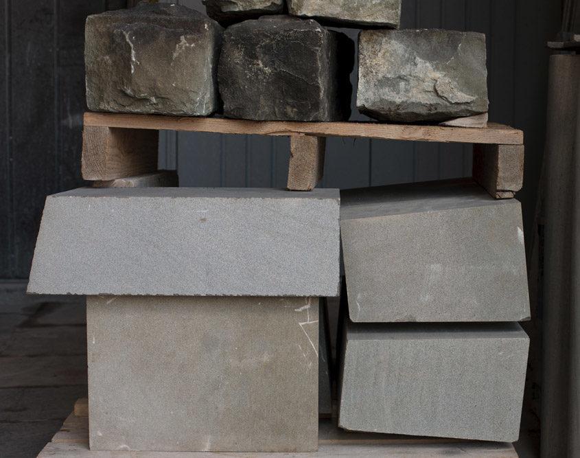 Rohmaterial Sandstein Kurs Arbeiten am Stein