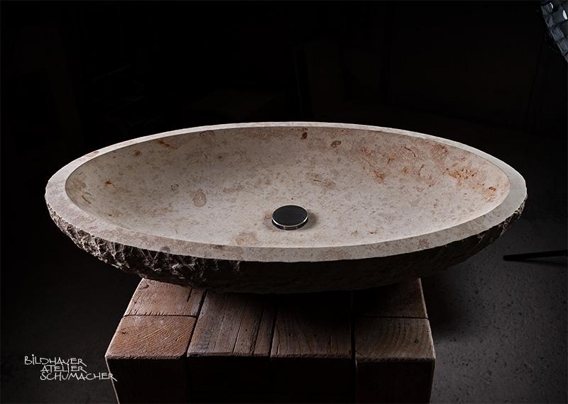 Waschbecken Oval
