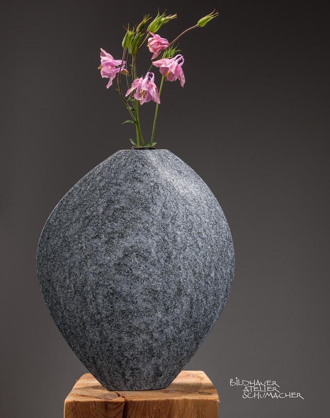 Blumenvase Maggia Gneis