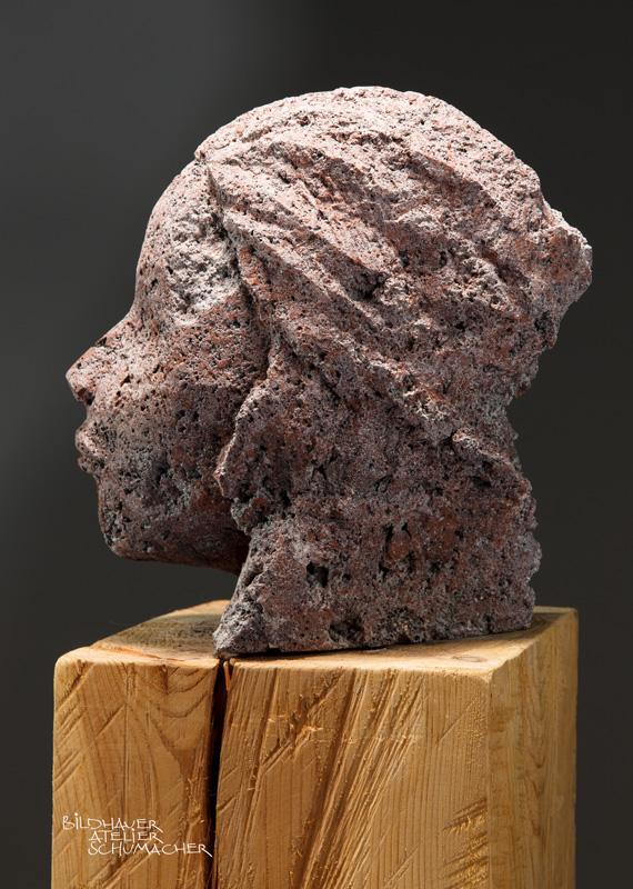 Kopf Rotlava